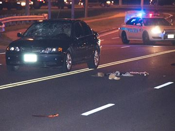 Pedestrian struck in Whitby
