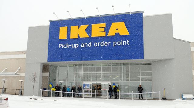 ikea pickup and order point opens in whitby