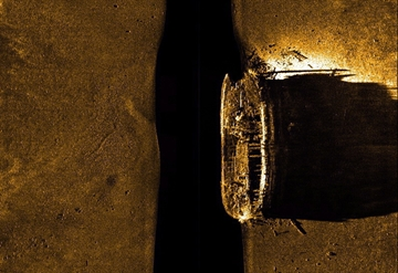 Found Franklin ship identified as HMS Erebus-Image1