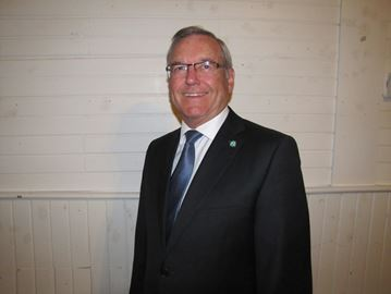 Frontenac Islands mayor Denis Doyle