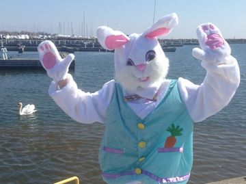Easter Bunny coming to Bronte Village Apr. 4