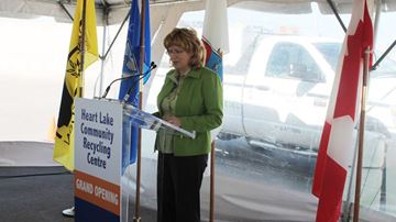 Heart Lake Recycling Centre Grand Opening