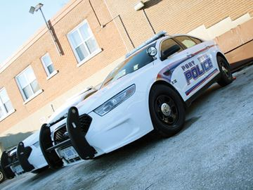 Port Hope Police car
