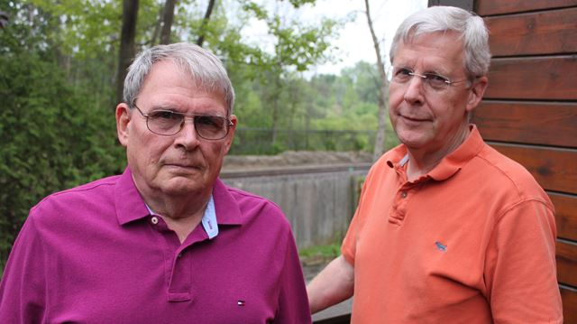 Via Rail siding construction catches residents off-guard