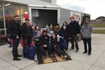 Holiday food and toy drive