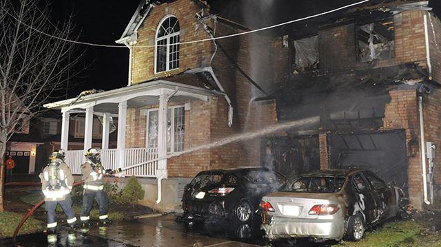 Fire destroys Milton home