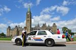 Mounties on Parliament Hill