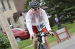 Sprinting, swimming and cycling for breast cancer
