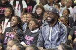 DeMarre Carroll surprises Trust 15 youth