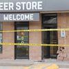 Bracebridge beer store struck by car