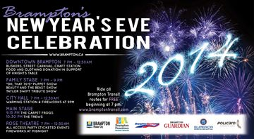 New Year's Eve Celebration Brampton