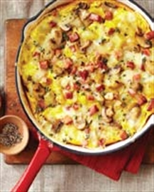 Potato, mushroom frittata great use for leftover potatoes– Image 1