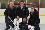 Alliston insurance broker donates goalie gear