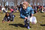 Egg hunt tradition returns to Jaycee Gardens