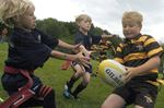 Hamilton Hornets host first minis rugby festival