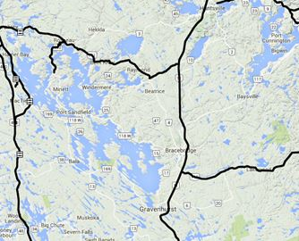 Muskoka road conditions Nov. 25
