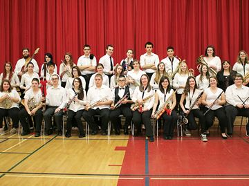Penetanguishene Secondary School band to compete at national competition