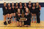 Halton Tier 2 senior volleyball champions