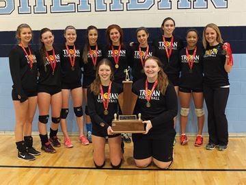 Halton Tier 2 senior volleyball champions