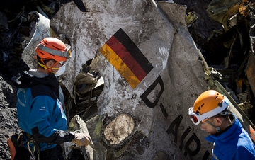 Lufthansa CEO at crash site: 'Long, long time' to understand-Image1