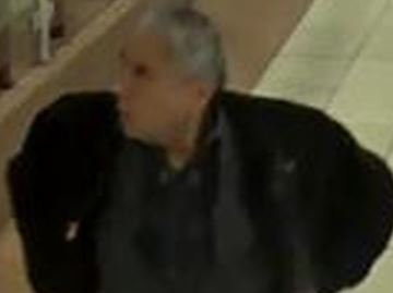 Toronto police released this security camera image of a man wanted in connection with a disturbance at a downtown hotel.