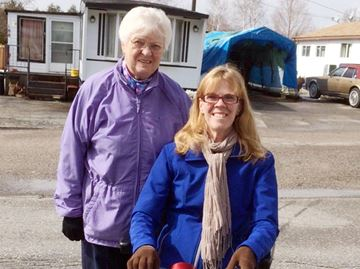 Walkers battle disease stealing independence in Barrie