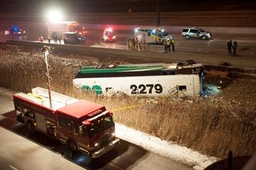 One passenger dead in GO bus rollover crash-Image1