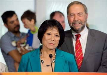 Olivia Chow returns to NDP to run in election-Image1