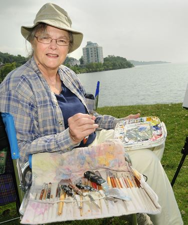 Artists share creative process at Kempenfest in Barrie