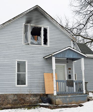 Midland man loses everything in fire days before Christmas