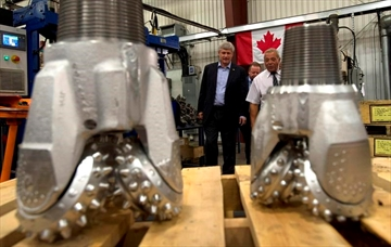 Conservatives mining for votes in north-Image1