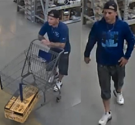 CAUGHT ON CAMERA: Man allegedly bolts with more than $1,000 worth of tools from Burlington Lowe's