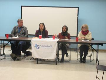 Meeting on battling racism