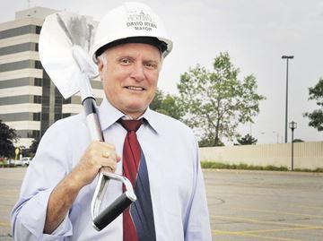 Mayor David Ryan