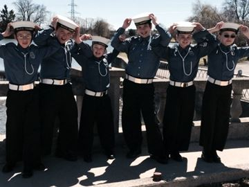 Barrie Navy League cadet corps team win provincial first aid championship