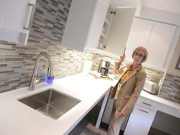 Renovations improving life at Oakville's Jean and Howard Caine building