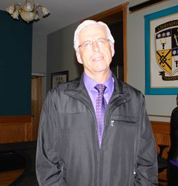 Ron Vandewal, the new mayor of South Frontenac