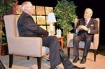 Brian Mulroney talks achievements, legacy during interview at Midland Cultural Centre