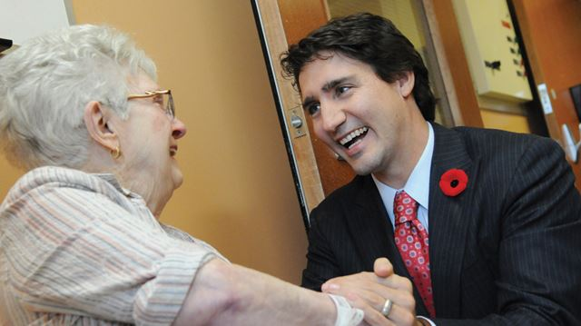 Trudeau visits Fairview Lodge residents