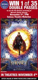 Record Reward: Marvel's Doctor Strange