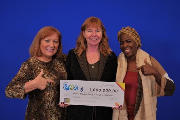 Hamilton Good Shepherd co-workers share $1 million Lotto Max jackpot