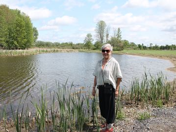 Wildlife return to restored Carp River