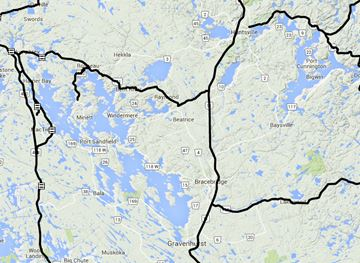 Muskoka road conditions Nov. 27 6:30 a.m.
