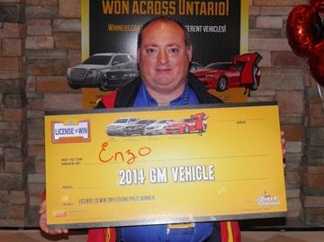Barrie man win OLG's Licence to Win
