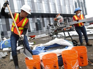 Pan Am construction