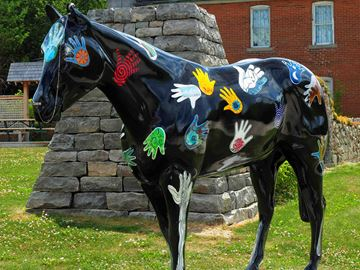 King Township shares in Headwaters Parade of Horses pair of awards