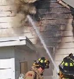 Man jumps from second story window to escape fire– Image 1