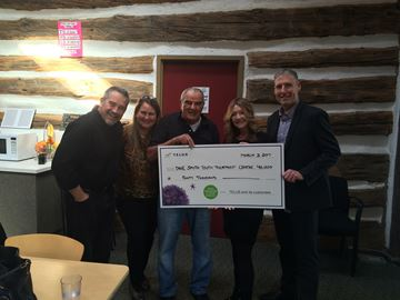 $40,000 donation to Dave Smith Youth Treatment Centre's campaign