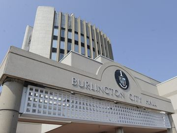 Low-hanging wire fixed after call from City of Burlington