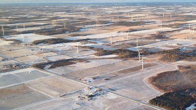 Melancthon wind facility